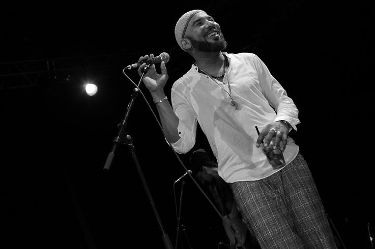 Anthony Joseph & The Spasm Band, jazz musician, spoken word, jazz à liège 2012, music, © photo dominique houcmant