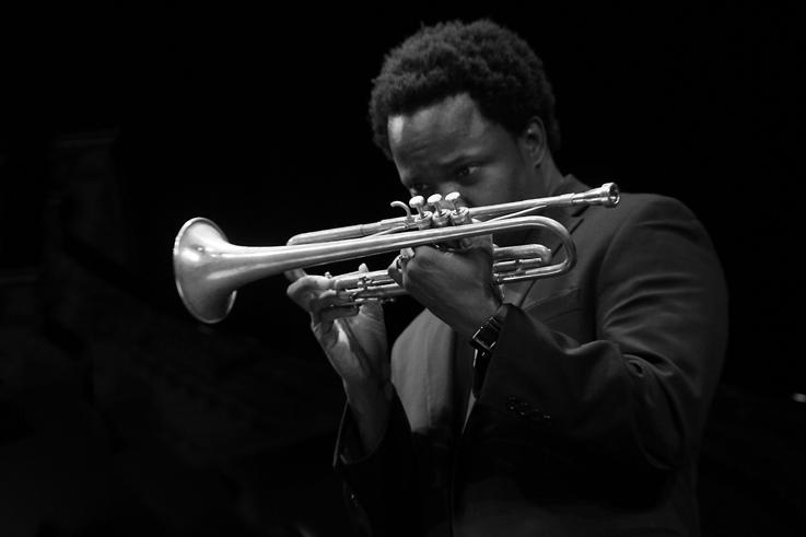 Ambrose Akinmusire, jazz musician, trompette, trumpet, jazz à liège 2012, music, © photo dominique houcmant
