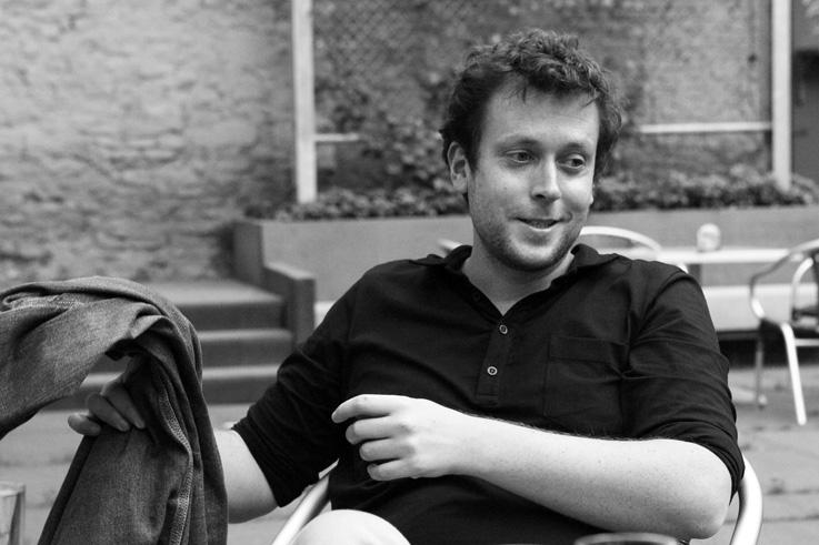 portrait, Joachim Lafosse, à perdre la raison, cinema sauvenière liège, réalisateur, photo dominique houcmant, goldo graphisme