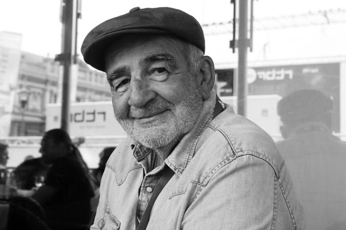 portrait de Jean-louis Foulquier aux Francofolies de Spa 2012, © photo dominique houcmant