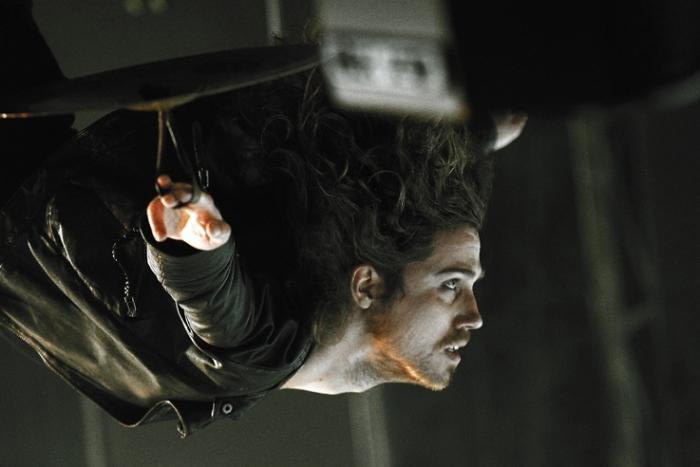 Julien Doré, music, concert, live, chanson française,  francofolies de Spa, Belgique, photo dominique houcmant, goldo graphisme