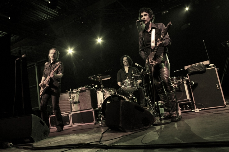 The Jon Spencer Blues Explosion, Jon Spencer, Judah Bauer, Russell Simins, concert, live, les ardentes festival, liège, blues rock, garage, © photo dominique houcmant