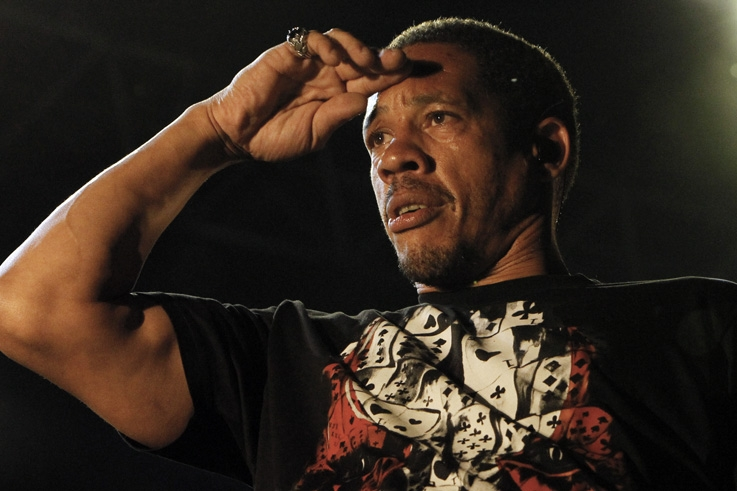 portrait, Joey Starr, Didier Morville, Ronquières Festival, concert, rap, Belgique, photo dominique houcmant, goldo graphisme