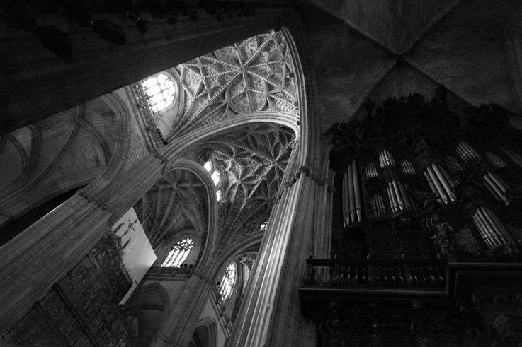 Los órganos, Catedral de Santa María de la Sede, Catedral de Sevilla, les orgues, cathédrale, Sevilla, españa, espagne, spain, Séville, espagne, spain, orgues, organs, photo dominique houcmant, goldo graphisme