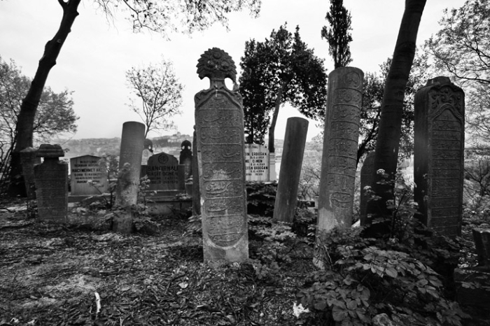 Eyüp Mezarlığı, Eyüp, İstanbul, Türkiye, cimetière, eyup cemetery, Istanbul, Turquie, Turkey, pierres tombales, tombstones, photo dominique houcmant, goldo graphisme