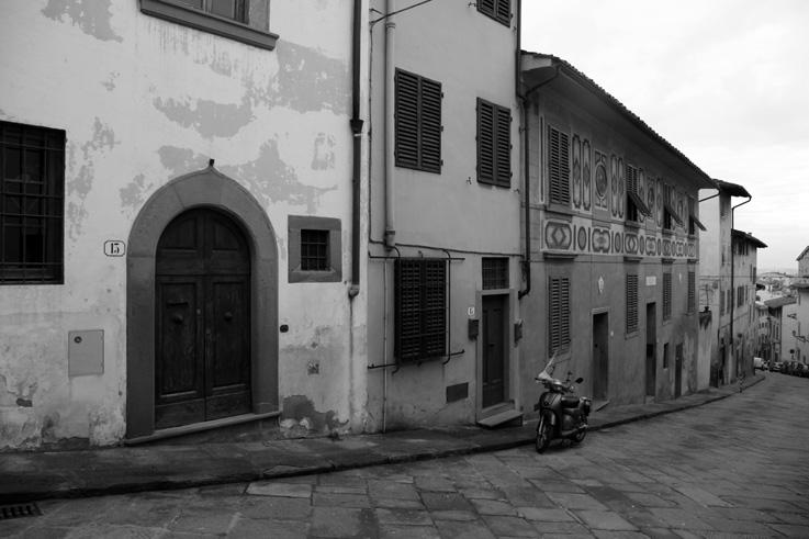 Casa di Galileo Galilei, Firenze, Maison de Galilée, Galileo house, Italia, Costa San Giorgio, Florence, Italie, Italy, © photo dominique houcmant
