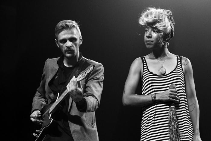 Joy Wellboy, Wim Janssens, Joy Adegoke, concert, caserne fonck, Liège, les heures inD, electro, indie, © photo dominique houcmant
