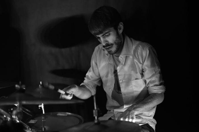 Great Mountain Fire, Morgan Vigilante, batterie, drums, concert, live, le fiacre, Liège, © photo dominique houcmant