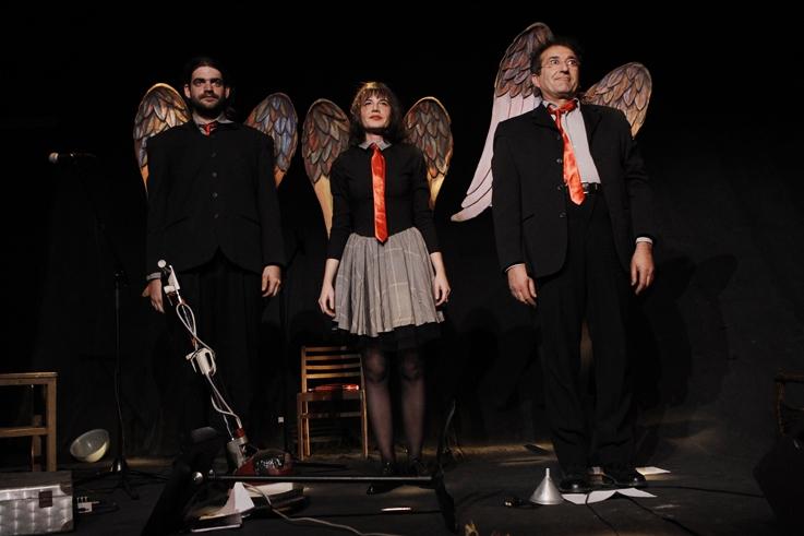 Aurélien Rozo, Melle X, Mustapha Aouar, théâtre, le salut, Cie de La Gare, lecture, spectacle, © photo dominique houcmant