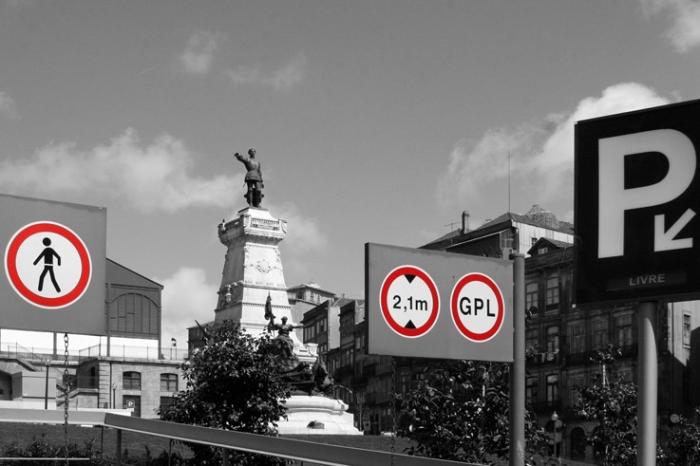 statue de Henri le Navigateur, Porto, Portugal, Estátua do Infante Dom Henrique de Avis, O Navegador, © photo dominique houcmant