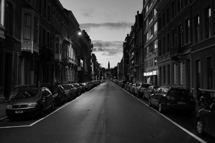 rue Fabry, tour du mémorial interalliés, Liège, Belgique, photo dominique houcmant, goldo graphisme