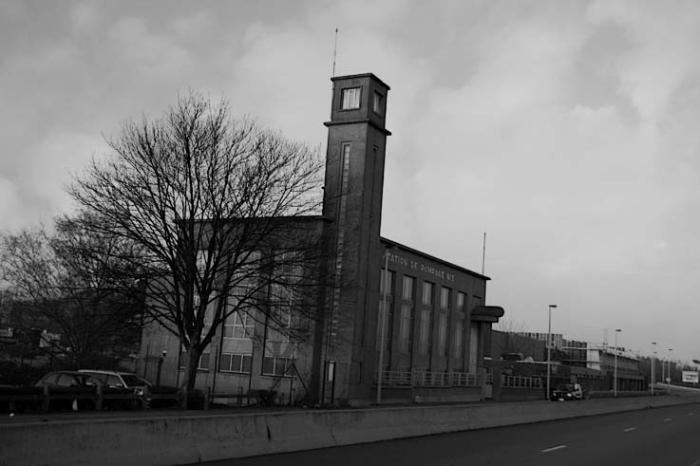 photo station de pompage n° 3, quai Destrée Flémalle Belgique, pumping station, photo dominique houcmant, goldo graphisme
