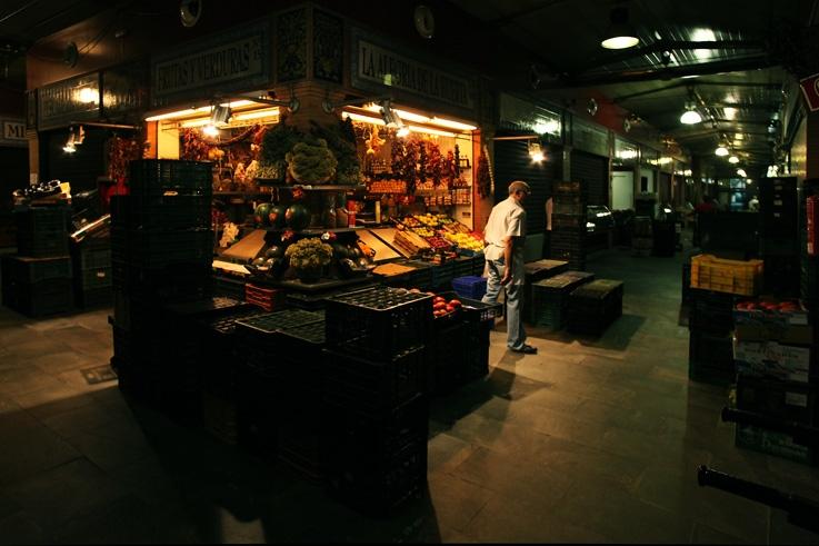 la alegria de la huerta, mercado de triana, sevilla, españa, espagne, spain, seville, indoor, market, marché couvert, photo dominique houcmant, goldo graphisme