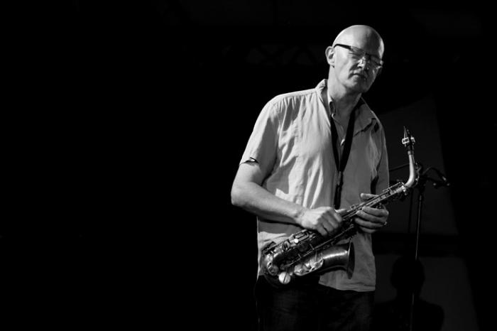 Steve Houben, jazz, saxophoniste, flutiste, live, concert, music, Comblain Jazz Festival, 2009, portrait, foto, photo dominique houcmant, goldo graphisme