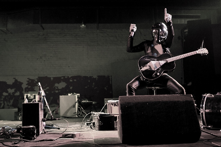 Bob Log III, Robert Logan, concert, live, caserne fonck, ardentes club, Liège, music, punk, rock, blues, © photo dominique houcmant