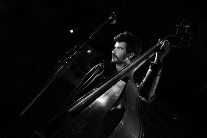 Johnny Montreuil, Benoit Dantec, live, concert, music, Liège 2013, rock parigot, portrait, foto, photo dominique houcmant, goldo graphisme