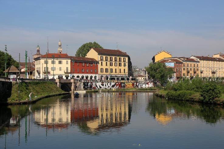 laghetto di Sant'Eustorgio, Darsena di Porta Ticinese, naviglio grande, Milano, Milan, Italia, Italie, Italy, © photo dominique houcmant