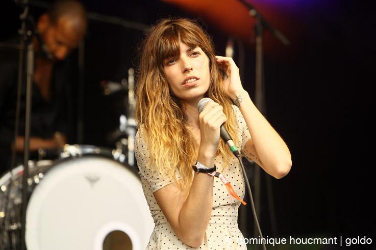Lou Doillon, les ardentes festival, liège, live, concert, © photo dominique houcmant