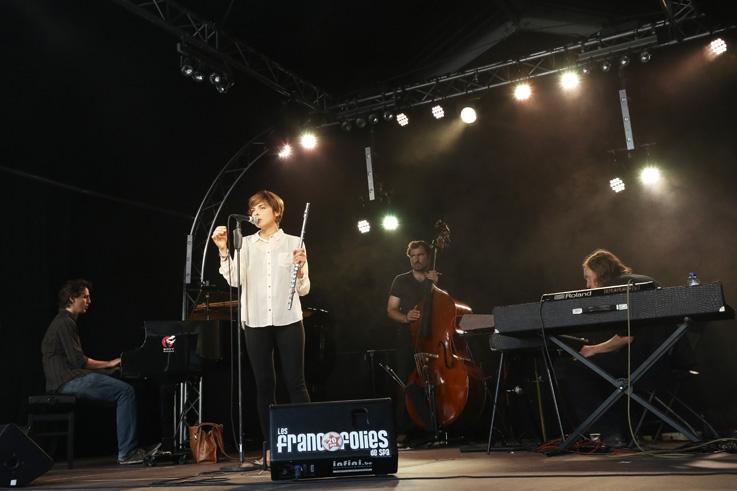 Pascal Mohy, Mélanie de Biasio, Sam Gerstmans, Pascal Paulus, jazz, live, concert, music, francos, francofolies de Spa, photo dominique houcmant, goldo graphisme