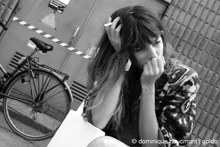 portrait Lou Doillon, actrice, chanteuse, mannequin, les ardentes festival, liège, © photo dominique houcmant