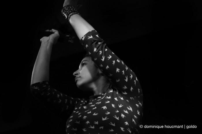 Little X Monkeys, live, concert, l'anvert, Liège, Marjorie Piret, © dominique Houcmant | Goldo