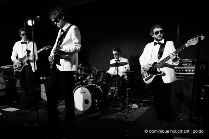 The Sidekicks, live, concert, l'anvert, Liège, Olivier Delhez, Arthur Devreux, Gilles Wautelet, Denis Wautelet, © dominique Houcmant | Goldo