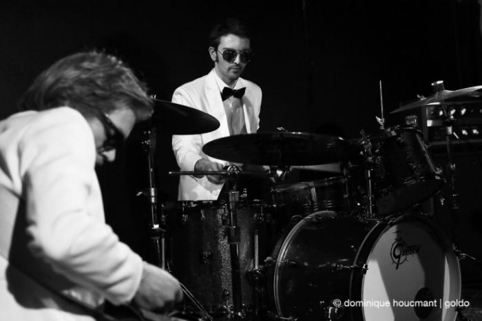 The Sidekicks, live, concert, l'anvert, Denis Wautelet, Liège, © dominique Houcmant | Goldo