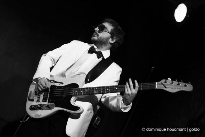 The Sidekicks, live, concert, l'anvert, Gilles Wautelet, Liège, © dominique Houcmant | Goldo