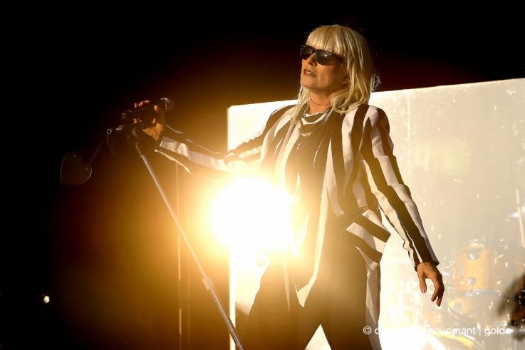 debbie Harry, Blondie, portrait, punk rock, new wave, blonde, american singer, fête des solidarités, namur, live, concert, 2014, © photo dominique houcmant
