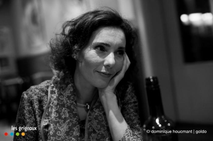 Hadja Lahbib, journaliste, cinéaste, femme, Patience, patience T'iras au paradis !, cinéma le parc, les grignoux, © dominique houcmant | goldo