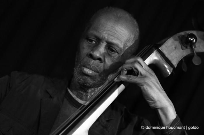 Portrait Charles Gayle, contrebasse, double bass, free jazz, liège, musicien, music, © photo dominique houcmant