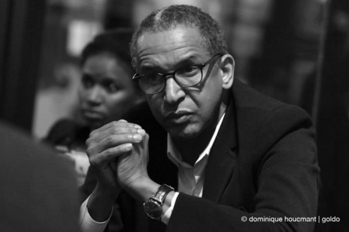 portrait, Abderrahmane Sissako, Timbuktu, réalisateur, african director, cinéma le Parc, Liège, les grignoux, photo dominique houcmant | goldo graphisme