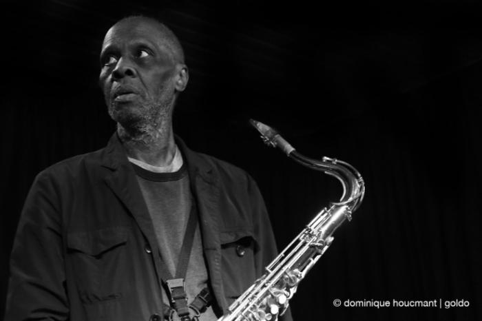 Portrait Charles Gayle, saxophone, free jazz, liège, musicien, music, © photo dominique houcmant