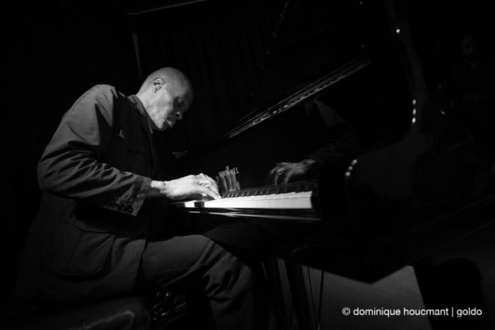 Portrait Charles Gayle, piano, free jazz, liège, musicien, music, © photo dominique houcmant