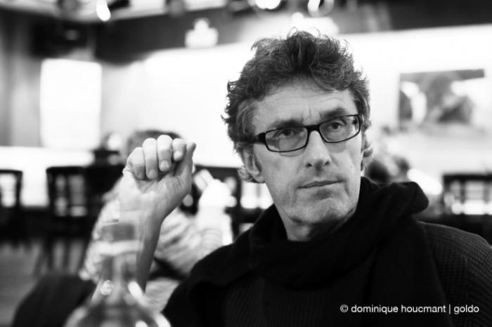 portrait, Pawel Pawlikowski, réalisateur et scénariste polonais, polish movie director and screenwriter, Ida, cinéma le Sauvenière, Liège, les grignoux, photo dominique houcmant | goldo graphisme