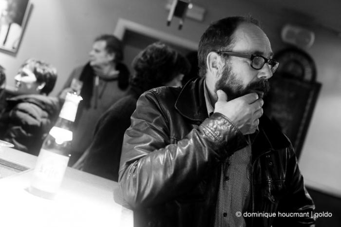 portrait,Olivier Gourmet, acteur belge, belgian actor, cinéma le Parc, Liège, les grignoux, photo dominique houcmant | goldo graphisme