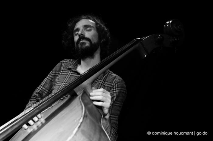 Portrait Brice Soniano contrebasse, double bass, jazz, liège, musicien, music, © photo dominique houcmant