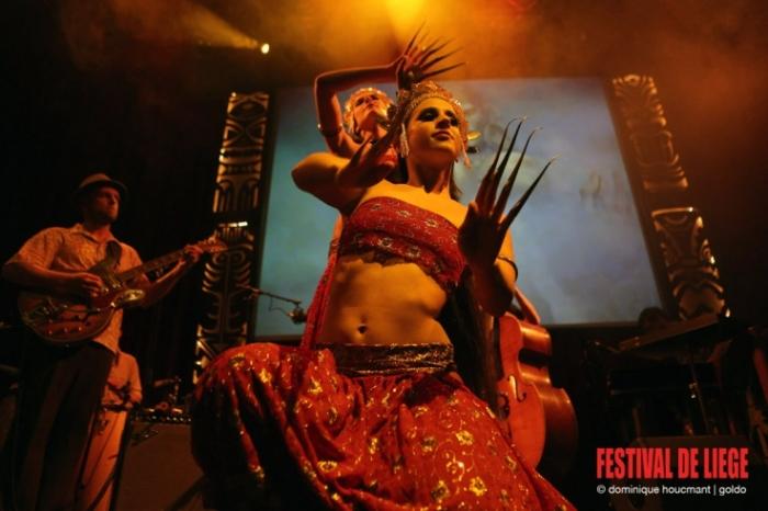 The Left Arm of Buddha, exotica music and dance, danseuse, dancer, © photo dominique houcmant