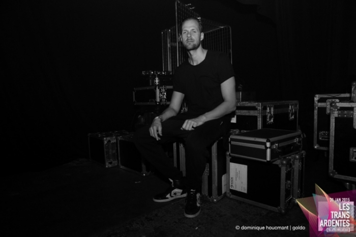 Portrait du suédois Adam Beyer, backstage, dj, electro, techno, les transardentes, festival, Liège, music, label Drumcode, © photo dominique houcmant