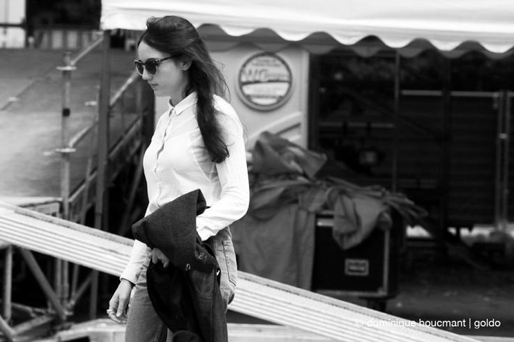 Portrait de Jain, chanteuse, auteur-compositrice-interprète française, Ronquières festival, chanteuse, pop, music, © photo dominique houcmant