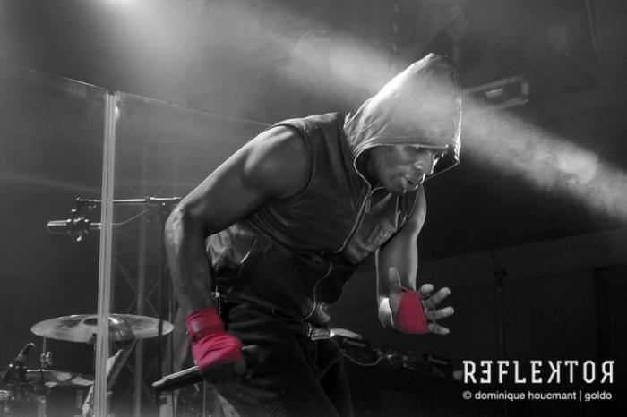 concert Kery James, rappeur, Mouhammad Alix tour 2016, reflektor Liège, photo © Dominique Houcmant Goldo © photo dominique houcmant
