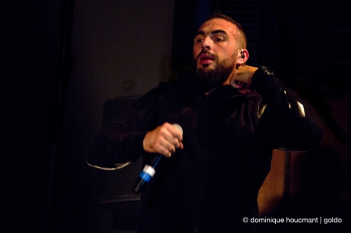concert Médine Zaouiche, rappeur, prose élite tour 2016, reflektor Liège, photo © Dominique Houcmant Goldo © photo dominique houcmant