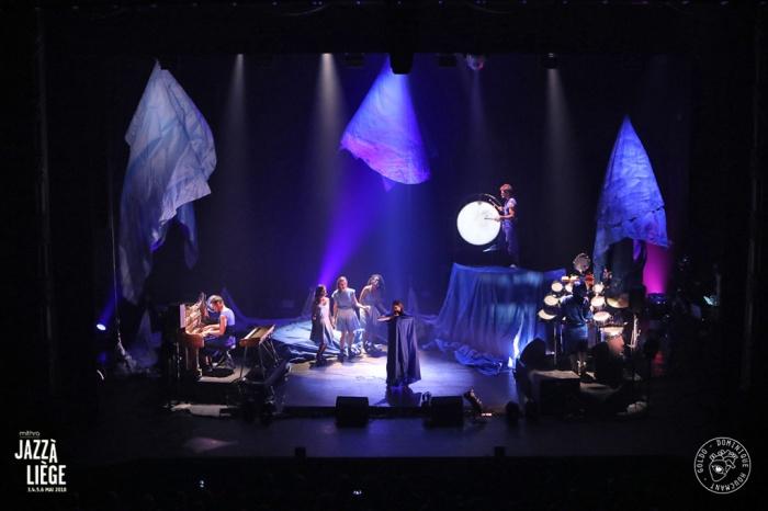 Camille, concert, Jazz à Liège, Festival, Forum de Liège, chanson, Camille Dalmais