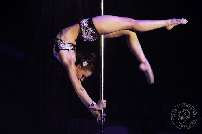 Tatiana Zheglova, Tanya Bogino Acrobatic Pole Dance