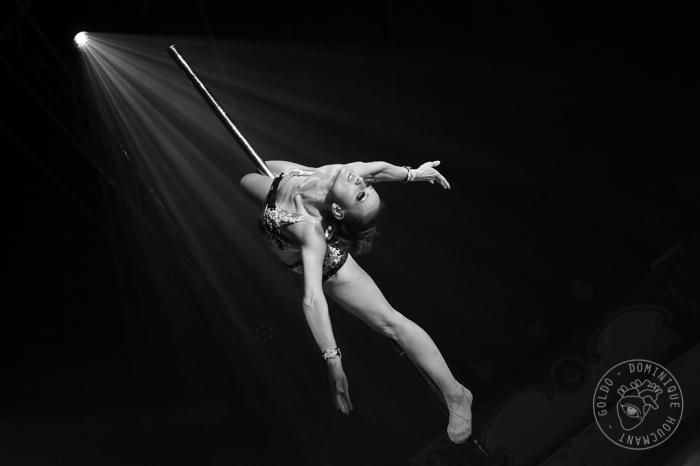 Tatiana Zheglova, Tanya Bogino Acrobatic Pole Dance, European Circus Festival à Liège