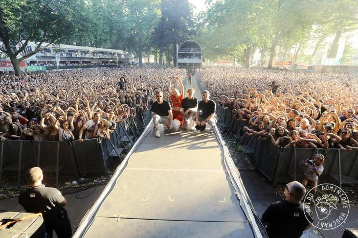 Angèle, foule, concert, festival, les Ardentes, Liège, chanteuse, pop