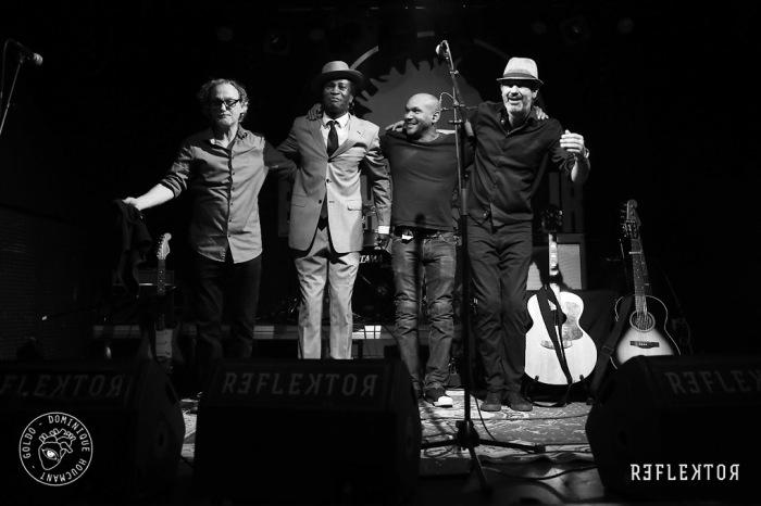 Bai Kamara Jr, the urban gipsy, concert, Reflektor, Patrick Dorcean, Michel Seba, band,