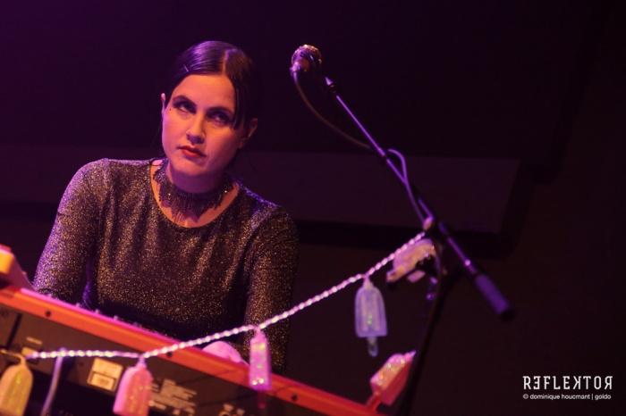 Princess Chelsea, concert, Reflektor, indie, pop, Chelsea Nikkel, singer, songwriter, Liège